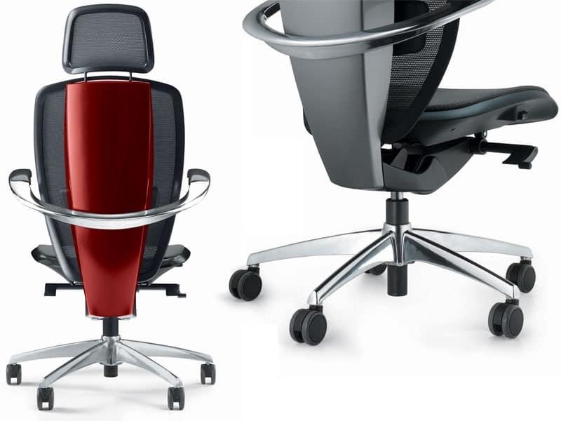 XTEN, Ergonomischen Bürostuhl, von Pininfarina, High-Tech