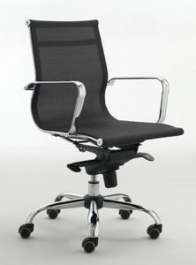Zenda L 559, Stuhl auf Rollen für Geschäftsleitung