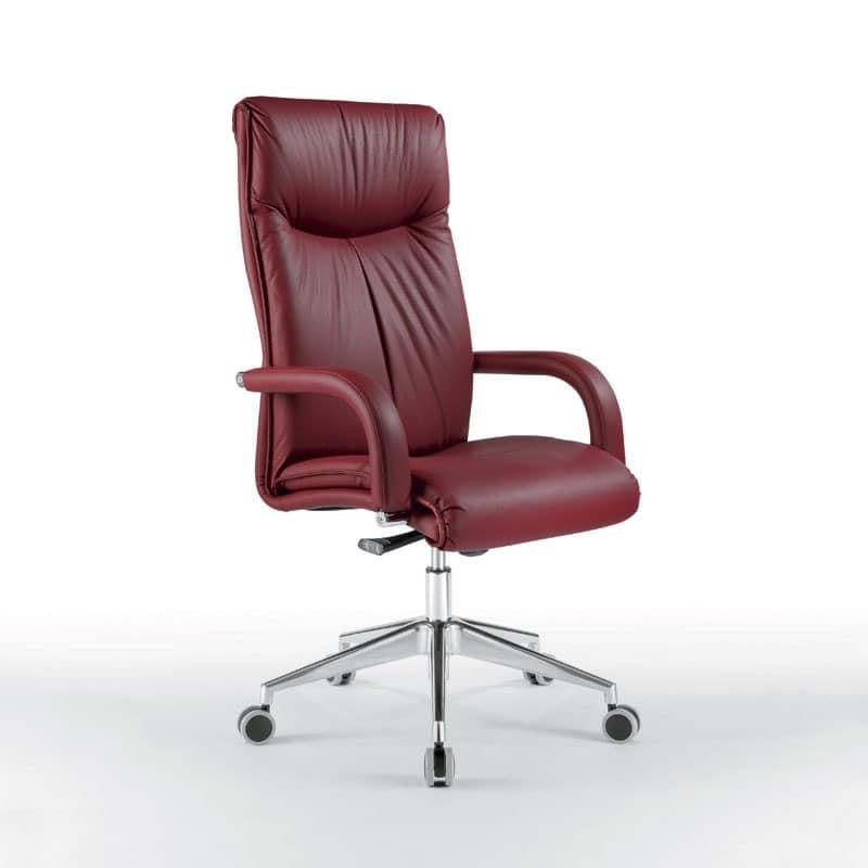 Angel hoch, Präsidentenstuhl mit weicher Polsterung, für Büros