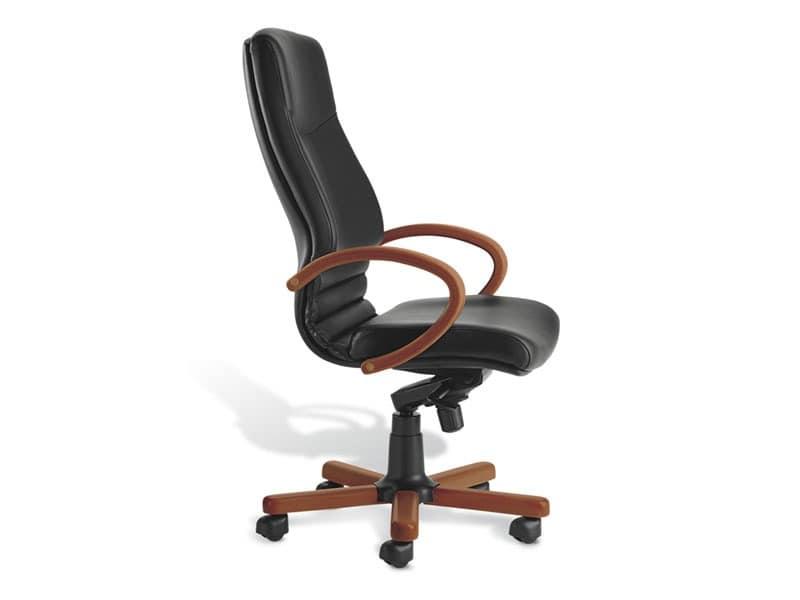 Digital WD 01, Chefsessel mit hoher Rückenlehne, gepolstert, für das Büro
