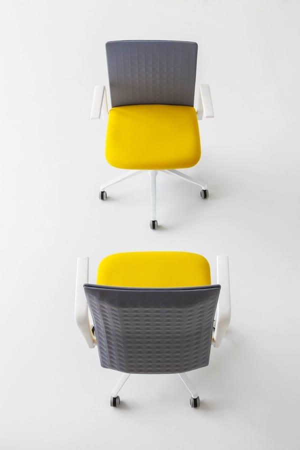 Elodie Manager 05R, Stuhl mit schallabsorbierender Rückenlehne