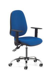 Indaco 440, Bürodrehstuhl mit hoher Rückenlehne