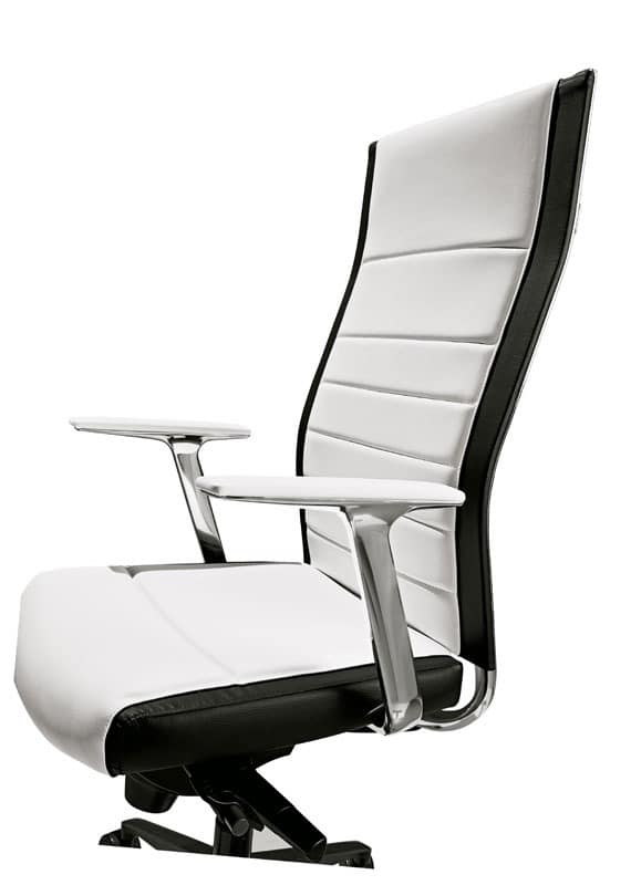 KosmoTop, Managerial Stuhl mit hoher Rückenlehne, für das Büro