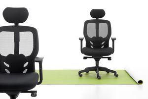 Tempo, Bürostuhl, Sitz gepolstert, Netzkappe