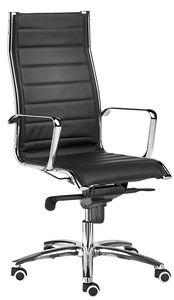 Teknik-T groß, Gesteppter Stuhl für Präsidentschaftsamt