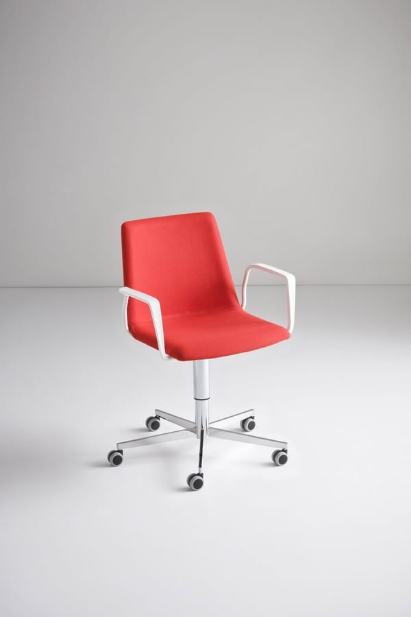 Akami 5R, Stuhl mit 5 Rädern, höhenverstellbar