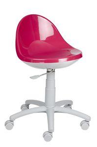 Bombo, Platz sparende Stuhl für Kinder Schlafzimmer, höhenverstellbar