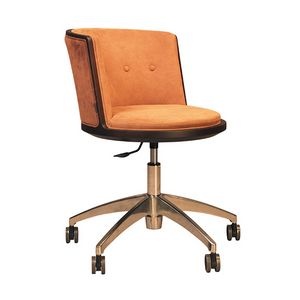 Carambola 5198/F, Stuhl auf Rollen, mit abgerundeten Formen