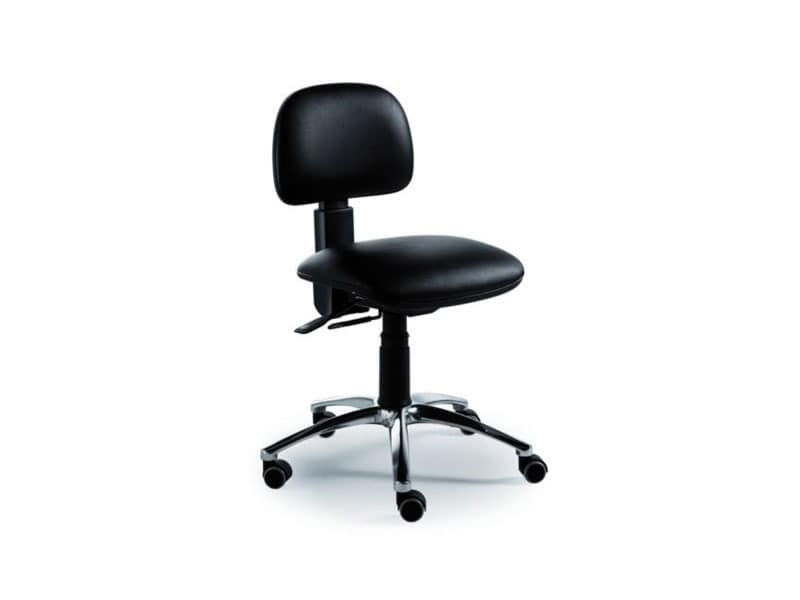 Dattilus task 5805, Operativen Bürostuhl ohne Armlehnen, gepolstert