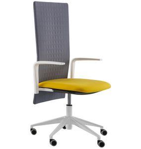 Elodie Executive 05R, Bürostuhl mit Rädern und schalldämpfender Rückenlehne
