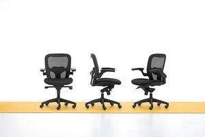 Iko 01, Moderne Bürostuhl, Lenkrollen, Gas-Lift