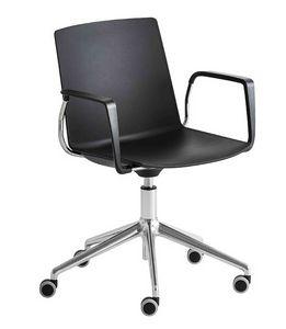 Jubel 5R, Stuhl mit Rädern für das Büro