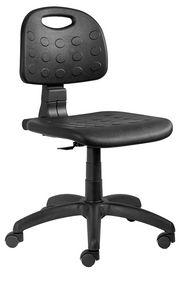 Labor PU Stuhl CPM, Stuhl auf Rädern, für Schreibtisch
