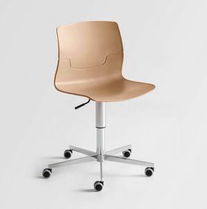 Slot 5R, Drehstuhl mit Rädern, für moderne Büro