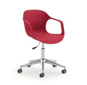 UF 853 / B, Stuhl auf Rollen, höhenverstellbar