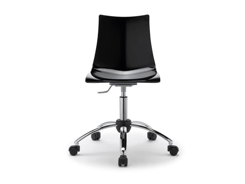 metall und polycarbonat stuhl sitz bei 65 cm oder 80 cm auch mit kissen idfdesign. Black Bedroom Furniture Sets. Home Design Ideas