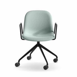 Máni Fabric AR-HO-4, Bürostuhl mit Armlehnen