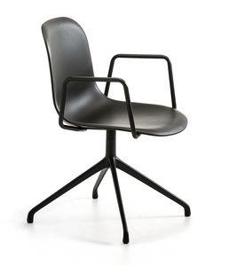 Mani Plastic AR SP, Bürodrehstuhl mit Armlehnen