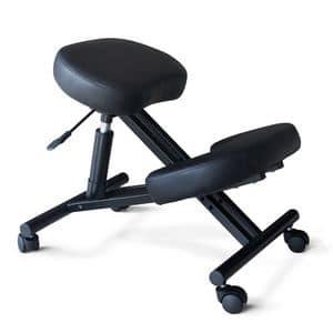 Orthopädischen ergonomischen Stuhl Stuhl – PN100GAS, Bürostuhl, orthopädisch, komfortabel und praktisch