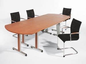 Sentrum 05/1A, Stapelstuhl mit Armlehnen, für Tagungsräume und Büros