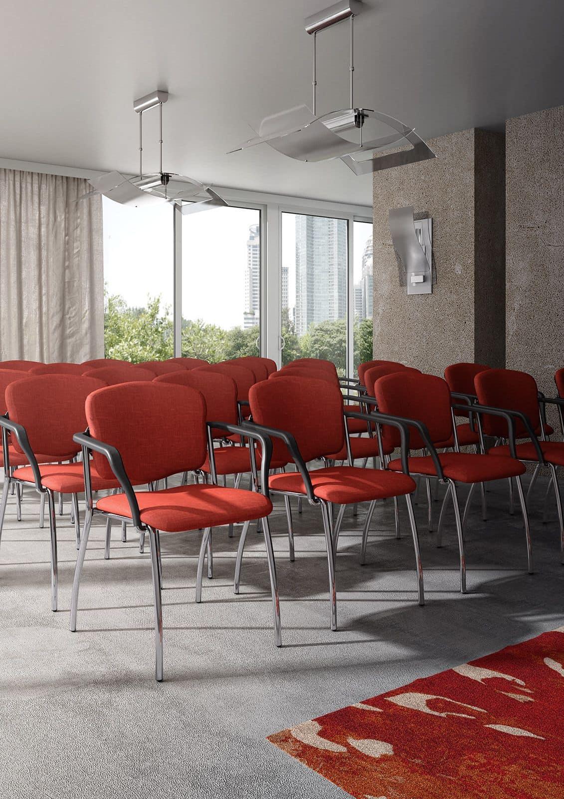Valeria 6536, Gepolsterte Sessel für Konferenzräume und Warteräume