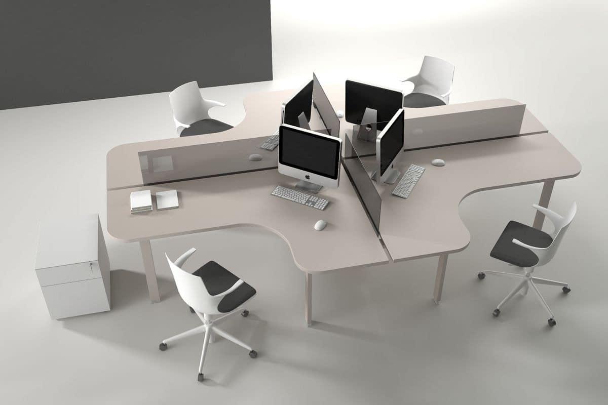 System op tische moderne und funktionale b ros idfdesign for Dau srl design arredo ufficio