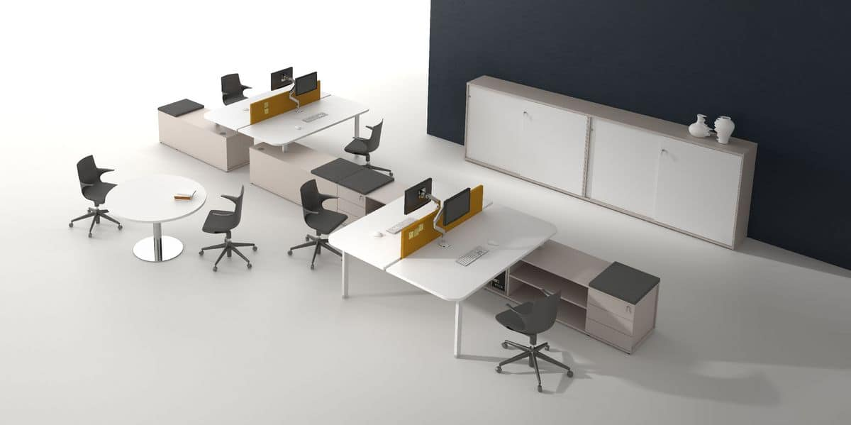 Modulare Arbeitsplätze Ideal Für Office Und Call Center Idfdesign