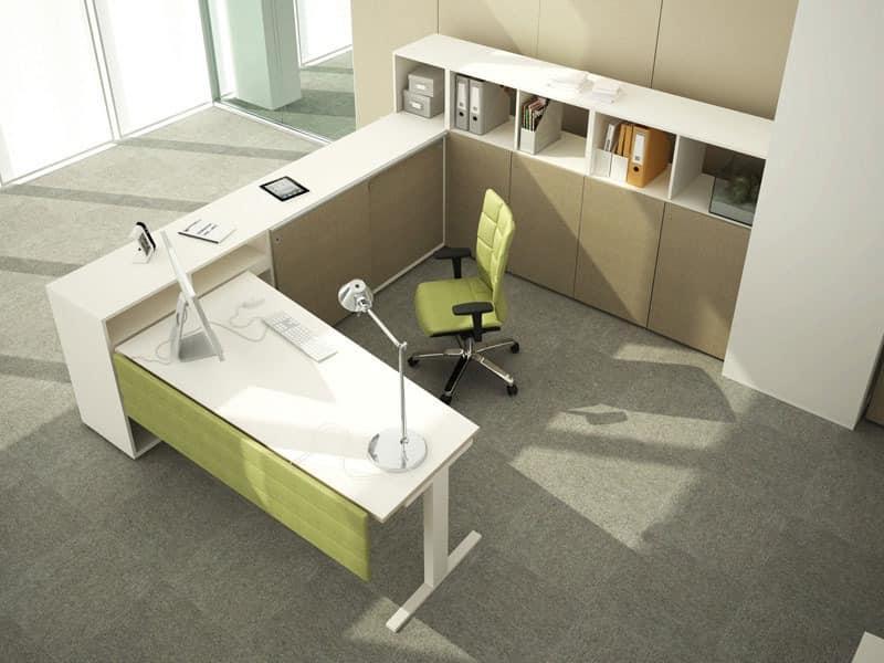 Modularer Schreibtisch Für Betriebsbüro