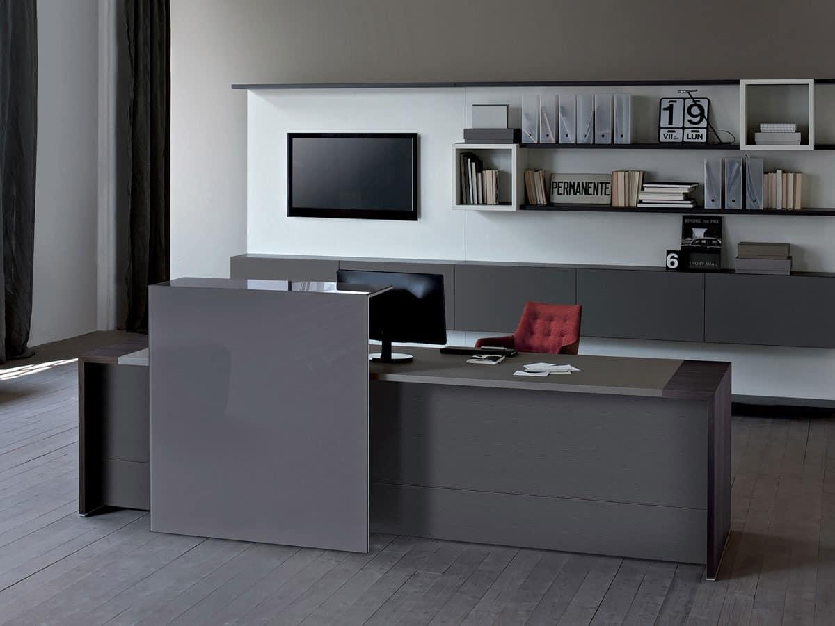 empfang schrank und z hler m bel f r b ro eingang idfdesign. Black Bedroom Furniture Sets. Home Design Ideas