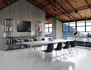 Socrate meeting room, Modulare Systeme für Konferenzräume und Büros