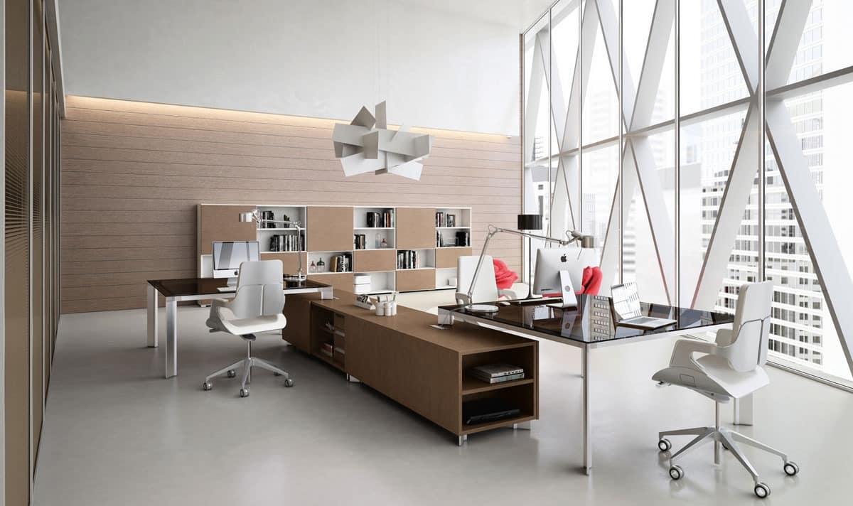 Schreibtische mit teilungsplatteworkstation idfdesign - Office idee ...
