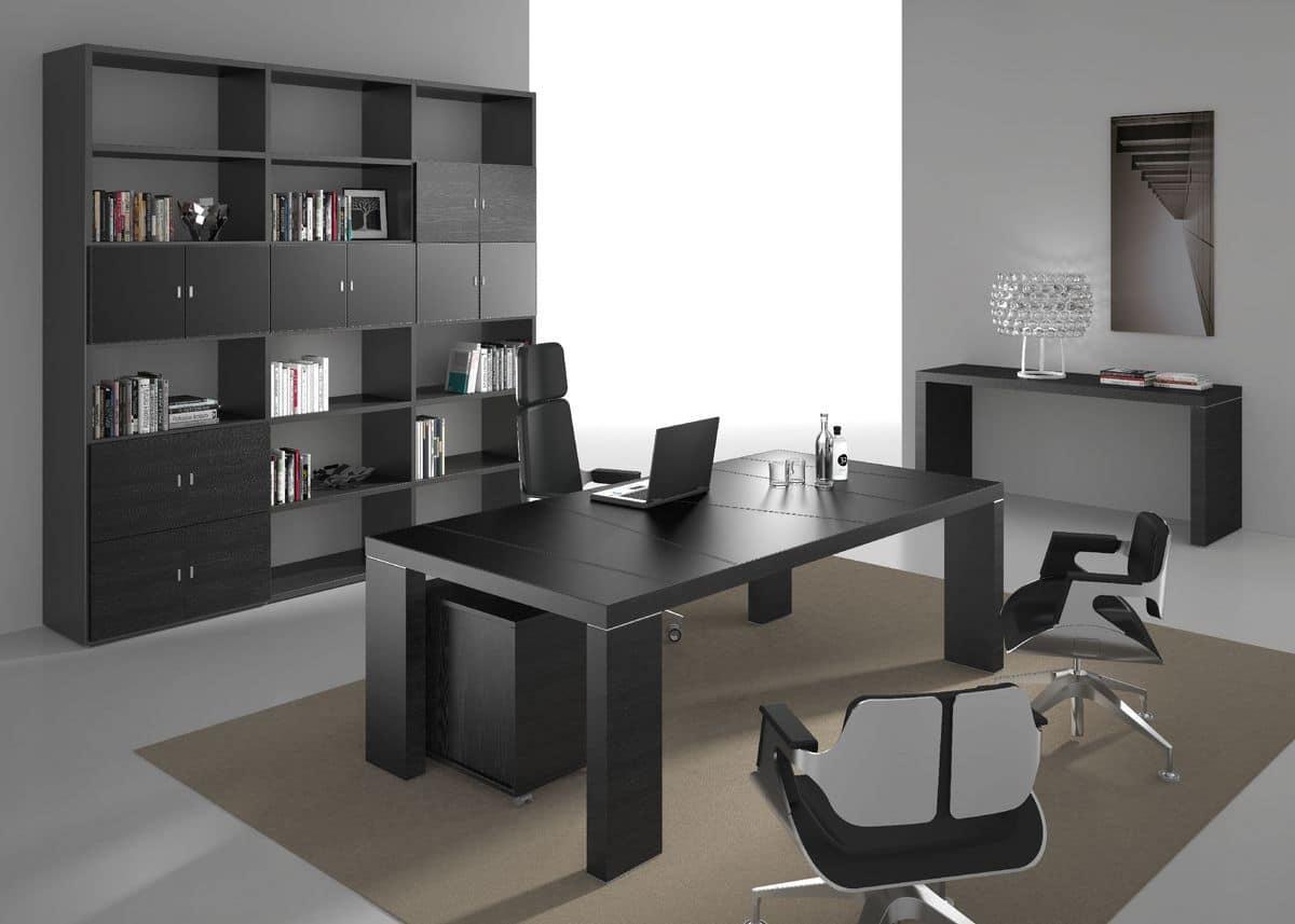 elegante moderne m bel f r chef idfdesign. Black Bedroom Furniture Sets. Home Design Ideas