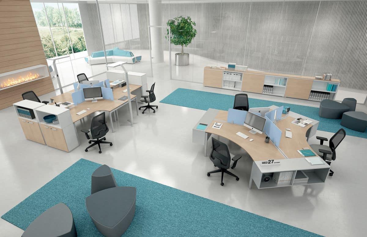 Fein Modulare Büromöbel Ideen - Wohnzimmer Dekoration Ideen ...