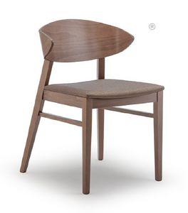 Edith, Stuhl aus Buchenholz