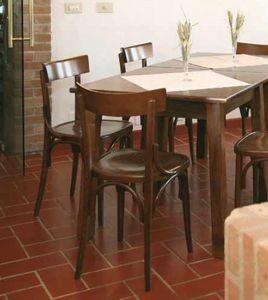 Milano, Stuhl in gebogenem Holz