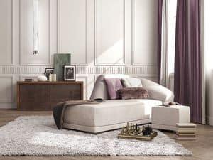Bilbao chaise longue, Luxus-Liege, modernen klassischen Stil