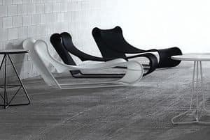 Bild von California chaise longue, geeignet f�r lesesaal