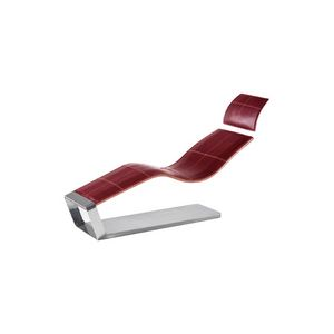 Panthère, Thick Leather Chaise Lounge