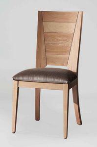 BS133S - Stuhl, Stuhl aus massivem Buchenholz