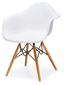 PL 507, Stuhl aus Polypropylen und Buchenholz
