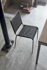YUPPIE DU SE177, Küchenstuhl mit Kunststoffnetztisch