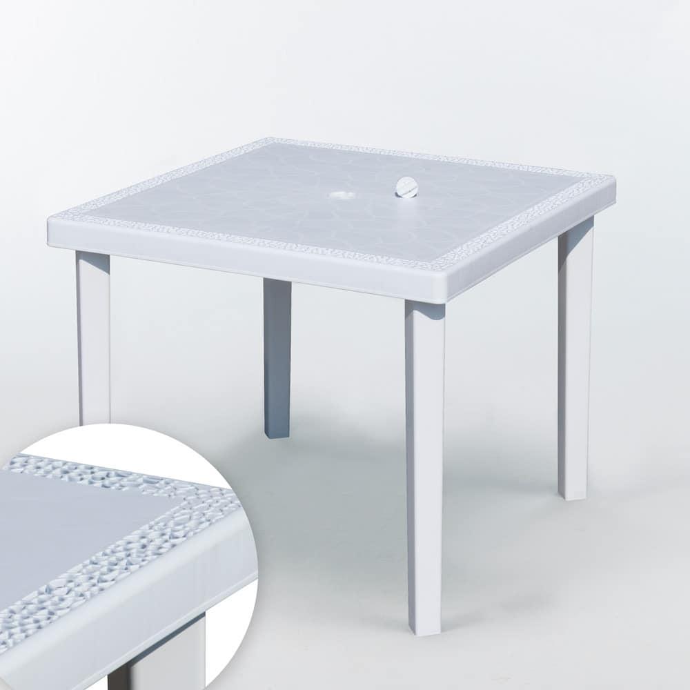 Quadratischer Tisch Aus Poly Rattan Leicht Und Robust Idfdesign