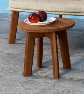 Tische kleine tische rundlich idfdesign for Beistelltisch aussenbereich