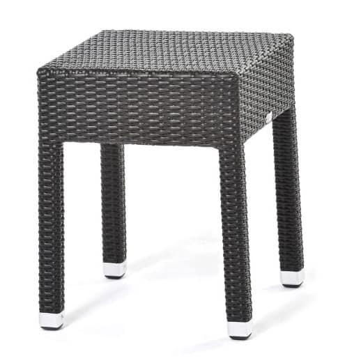 stapelbarer stuhl handgewebt aluminium basis idfdesign. Black Bedroom Furniture Sets. Home Design Ideas