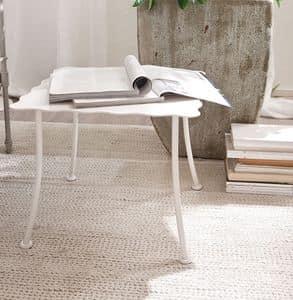 Bahamas Tisch, Tisch für Mittelhalle, Eisen förmigen Ober
