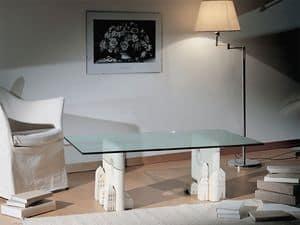Carioca, Couchtisch aus Stein, zeitgenössischen Stil gemacht