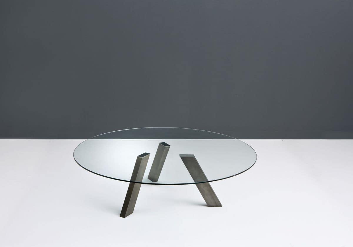 couchtisch mit glasplatte f r modernes wohnen geeignet idfdesign. Black Bedroom Furniture Sets. Home Design Ideas