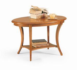Friedrich Beistelltisch, Beistelltisch im Holz, mit klassischem Stil