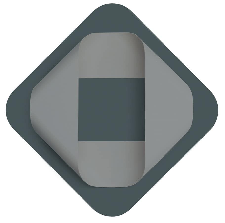 Couchtisch aus Metall mit Glasplatte, für Hotels   IDFdesign