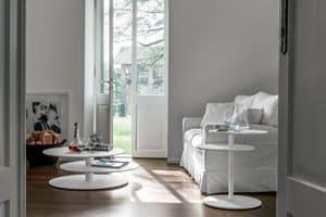 SPACE, Dekorative kleinen Tisch mit drei Etagen, für moderne Wohnzimmer